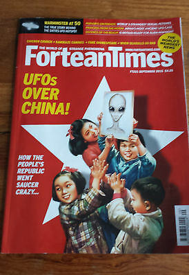 FORTEAN TIMES - SEPTEMBER 2015 Issue # 331 - UFOS OVER CHINA