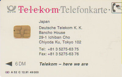 A-52C/91 - Japan - Deutsche Telekom - Volle - (08)
