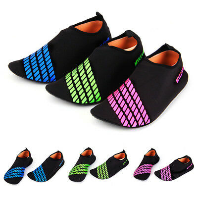 Men's Women Water Shoes Sandals Slip On Aqua Socks Holiday Pool Beach Swims Surf