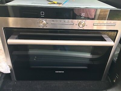 SIEMENS MULTI-FUNCTION Combi oven with microwave HB84K552B stainless ...