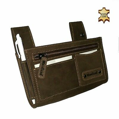 Real Leather Holster Waiter's Holster Halter Waiter Waitress Bag Wallet Wallet