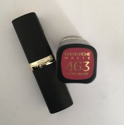 L'oreal Rossetto Color Riche Matte N. 463 Plum Tuxedo