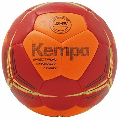 Kempa Spectrum Synergy Primo Handball Ball NEU rot orange 2018