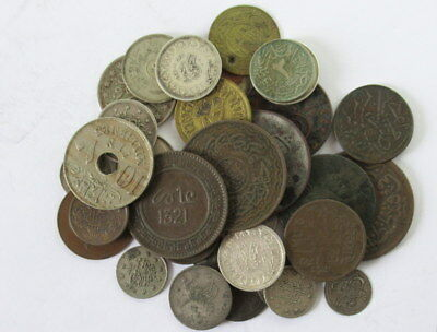 Ottaman Empire, Egypt and Turkey Coin Lot, 36 Coins, Some are Silver  #CIW