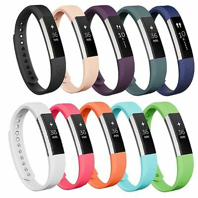 Replacement Silicone Wristband Wrist Band Strap Bracelet For Fitbit Alta HR