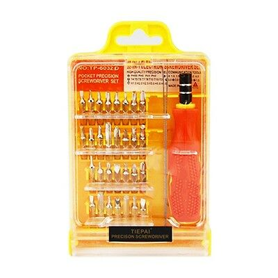 32 in 1 Precision Hardware Screw Driver Tool Sets Portable Screwdriver Kit TE