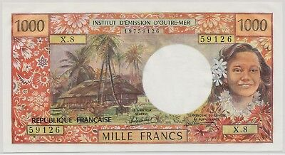Tahiti 1000 Francs ND(1985), P.27d_UNC
