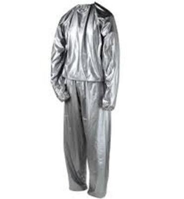Unisex Large Sauna Suit Weight Loss Slimming Training Exercise Sweat Gym Home