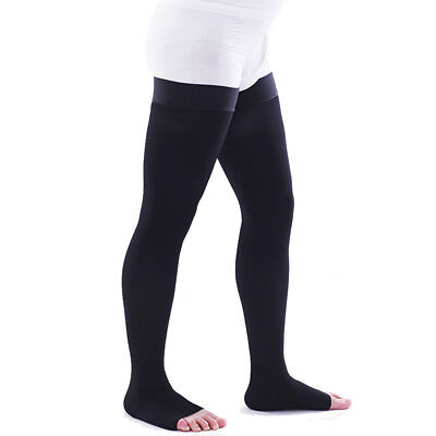 Medical Compression Socks Varicose Stockings Support Travel Flight Anti-Fatigue