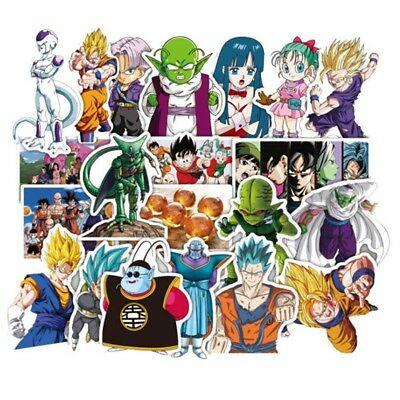 36PCs Japan Anime Dragon Ball Z Stickers for Fans CAR Stickers Decal Suitcase