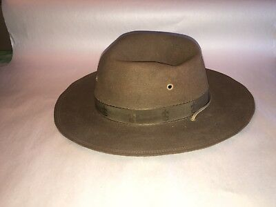 Vintage Stetson Boy Scouts Of America Hat 7 1/8