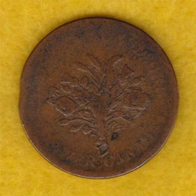 Lower Canada Half Penny Token (1835) - Lc3A3 - Trade & Agriculture --- Nek05