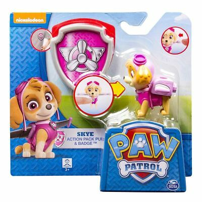 Paw Patrol Pup and Badge - Skye Authentic Brand New