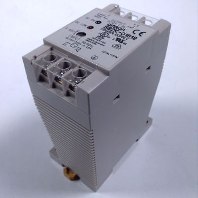 Omron S82K-01512 Power Supply Out: 12Vdc 1.2A NFP