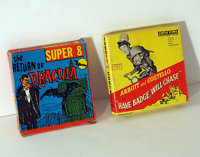 Super 8Mm Abbott & Costello / The Return Of Dracula - Very Good Condition!