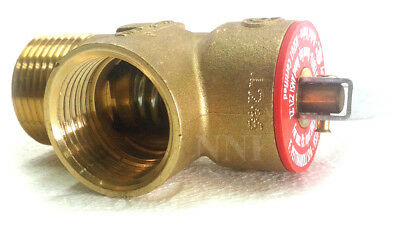 "3/4"" NPT Lead Free Pressure Relief Thermal Valve 150 Psi 200,000 Btu, Hot Water"