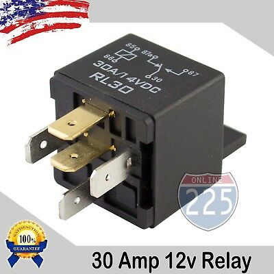 50PC Universal 30A AMP 12V Volt Automotive 5-Pin Car Relay with Harness Sockets