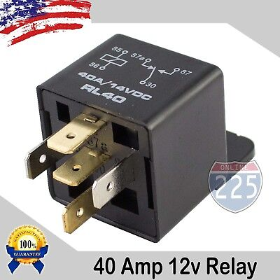50PCS Universal 40A AMP 12V Volt Automotive 5-Pin Car Relay with Harness Socket