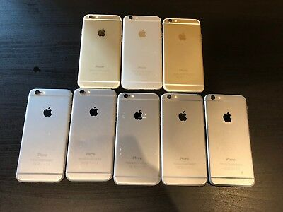 Wholesale LOT of (8) iPhone 6 (CLEAR IMEI) with Free Shipping