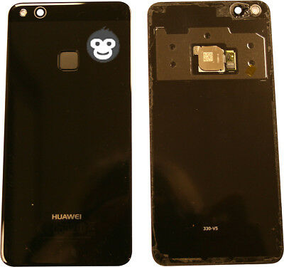 Genuine Huawei P10 LITE WAS- LX1 LX1A Battery Back Cover Rear Glass camera lens