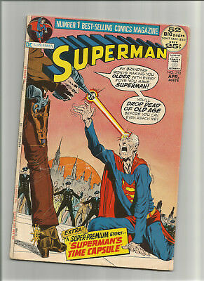 """Superman #250 {Apr 1972 Dc} Early Bronze Age! Vg/f """"have Horse, Will Fly!"""""""
