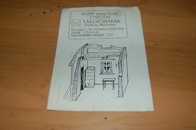 Vacu model kit 1:72 - the interior of the house with a stove