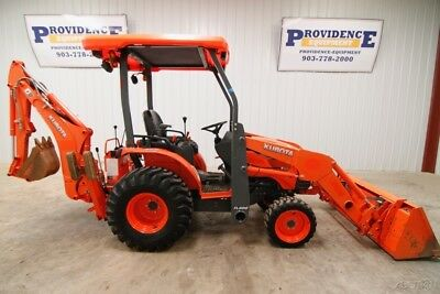 Kubota B26 Hst 4Wd Tractor Loader Backhoe, With Only 376 Hours!