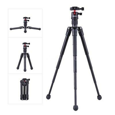 Andoer Lightweight Tripod +Ball Head for DSLR Camera Camcorder Smartphone Q8F9