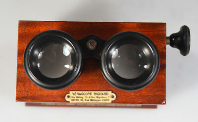Richard Verascope Viewer for 45 X 107 mm stereo views