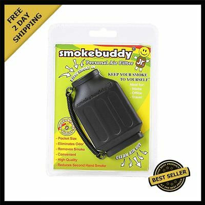 NEW Black Smoke Buddy Jr. Personal Air Purifier Cleaner Filter Removes Odor