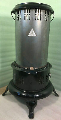 Vintage Perfection No. 525M Black and Silver Kerosene Heater