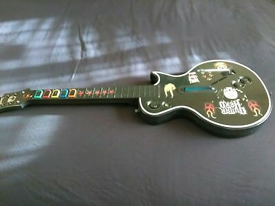 Wireless-Gibson-Les-Paul-Guitar-Hero-X-Box-360-Game-Controller FOR PARTS ONLY