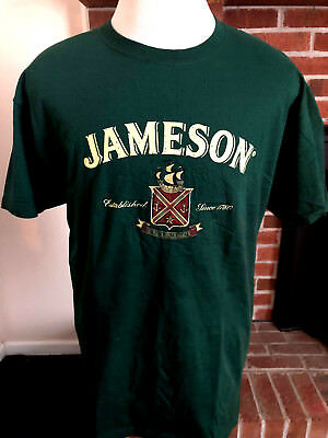 Jameson Irish Whiskey Men's / Adult T-Shirt Sz Extra Large (XL) - Green