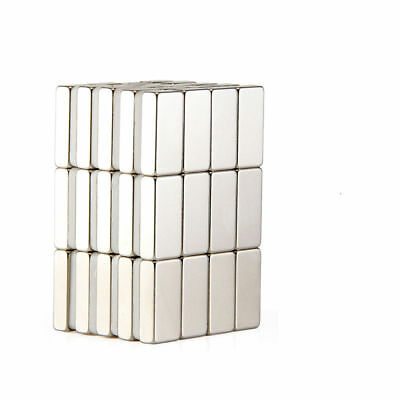 10-100pcs Super Strong Block Square Rare Earth Neodymium Magnets 10 x 5 x 3mm