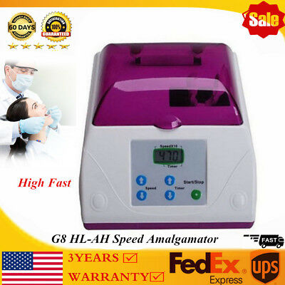 Electric G8 HL-AH High Fast Speed Amalgamator Dental Amalgam Capsule Mixer 110V