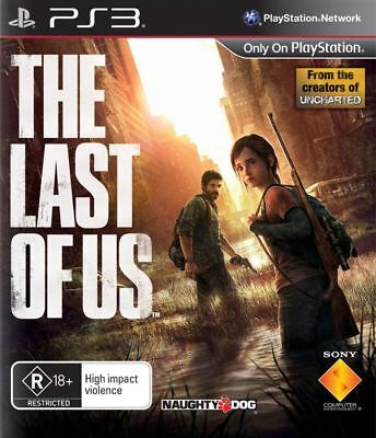 The Last of Us PS3 Game USED