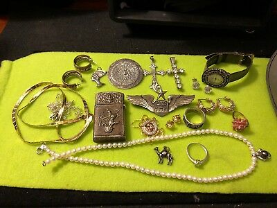 Big Sterling Silver Jewelry Lot 173 Grams