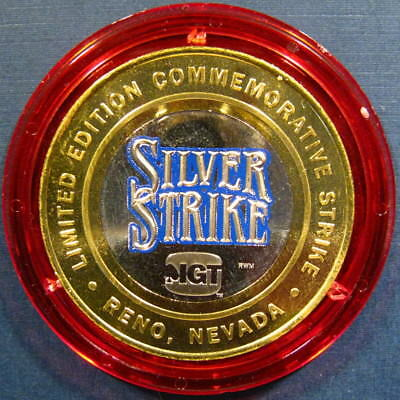 "RARE 2005 IGT ""Silver Strikers Club SILVER STRIKE"" Red Cap Commemorative Strike"