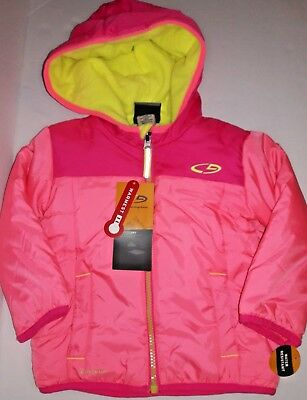 174d074ae C9 CHAMPION BABY Toddler Girl Pink Hooded Warmest Puffer Jacket 18 ...
