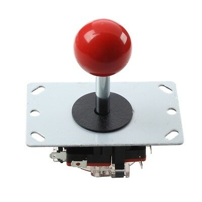 Pin 8 modes Red ball Joystick for arcade machine console recreational L7R1