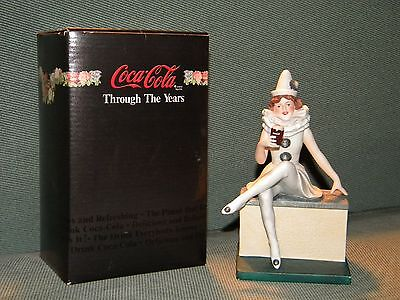 Coca Cola Through The Years Tis Folly To Be Thirsty Statue Porcelain 1986, NEW
