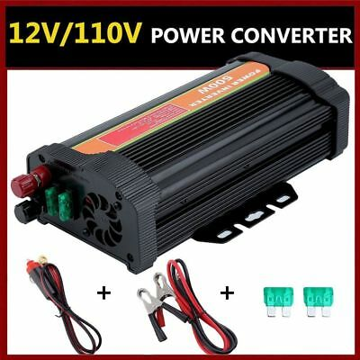 5000W Solar Power Inverter 4000W Peak 12V DC to 110V AC Sine Wave Converter