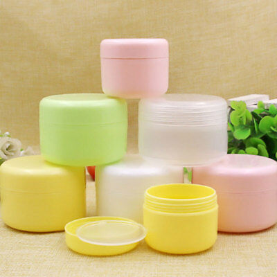 10/20/50/100g Sample Jar Container Pot Refillable Bottle f Cosmetic Lotion Cream