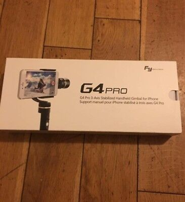 Feiyu G4 Pro Handheld Stabilized Gimbal for iPhone, Android & other Smartphone