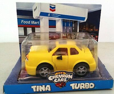 Chevron Cars Tina Turbo Yellow Collectible Moving Parts Eyes Mirrors, Etc.