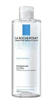 LA ROCHE-POSAY - Micellar Water ULTRA 400ml - Sensitive Skin -Cleansing Soothing