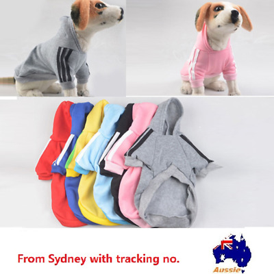 Pet cat Dog Hoodie warm winter Jumper Clothing XS-XXL