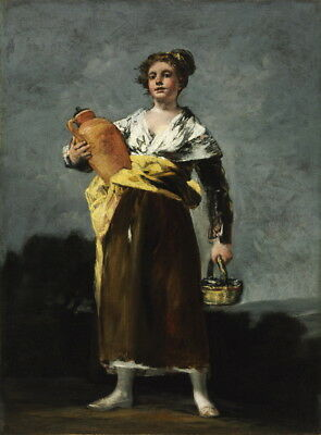 Francisco de Goya The Water Carrier Giclee Canvas Print  Poster