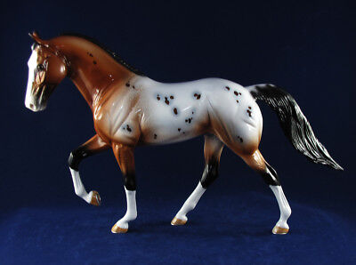 "Peter Stone ""Bladesmith"" Appaloosa Tennessee Walking Horse Model Horse 2005"