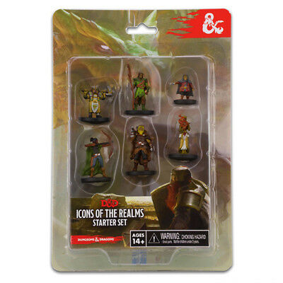 Dungeons & Dragons Icons of the Realms Painted Figures Starter Set NEW